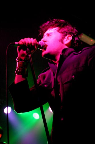 the bravery at fools gold Glasgow copyright Alec Nicholson
